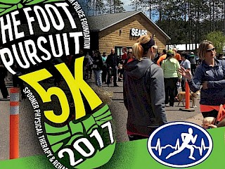 3rd Annual Foot Pursuit 5K Run/Walk