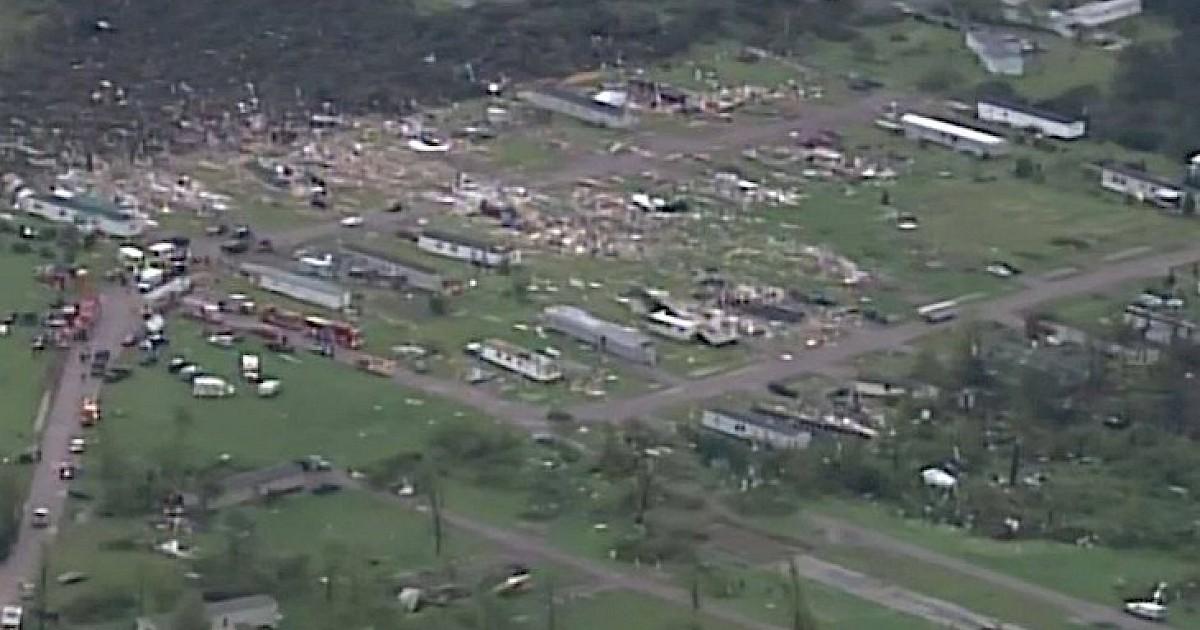 wisconsin emergency operations center  tornado incident