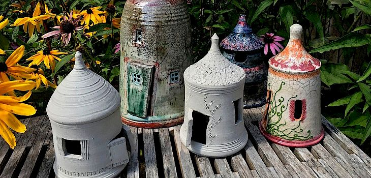 Make Your Own Fairy House at The Potter's Shed