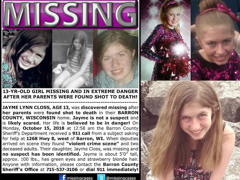 Federal Bureau of Investigation asking for help in search for missing Wisconsin girl