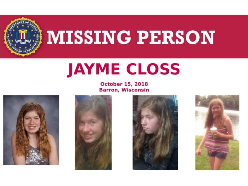 Two vehicles of interest in Jayme Closs investigation