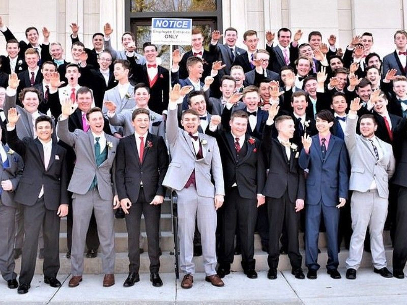 Wisconsin school board investigating photo of boys giving Nazi salute