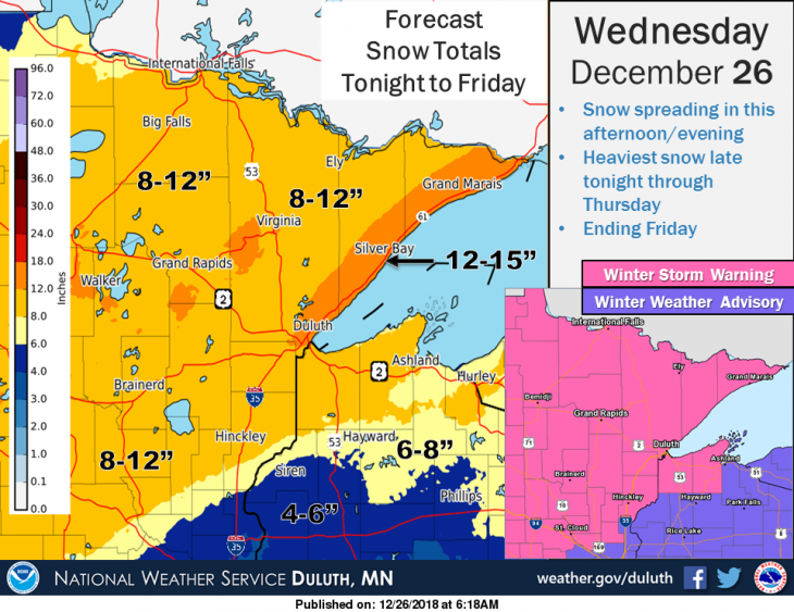 Winter storm heading east, could snarl travel